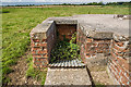 SJ7369 : WWII Cheshire, RAF Cranage, near Middlewich - LAA Emplacement (25) by Mike Searle