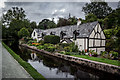 SJ2142 : Lovely House on the Llangollen Canal, Llangollen : Week 32