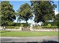 SP6908 : Memorial garden in Long Crendon by David Howard