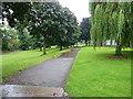 SP0991 : Lakeside Walk in Brookvale Park by Richard Law