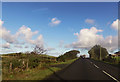 SH4647 : Farm track entrance south of Caerau by John Firth
