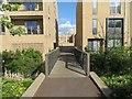 TL4555 : Footbridge off Lime Avenue by Scriniary