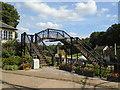 SU7585 : Footbridge, Fawley Hill by Paul Gillett