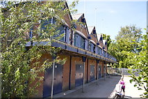 SP5204 : Oxford Boathouses by N Chadwick