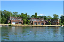 SP5105 : Oxford University Boathouses by N Chadwick