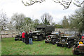 SP9315 : Military Vehicles on Display at Pitstone Green Museum (Easter 2009) by Chris Reynolds