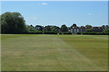 SP5105 : The Queens College Sports Ground by N Chadwick