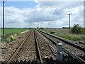 TL6484 : Railway towards Norwich by JThomas
