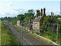 SJ9429 : Sandon Railway Station by Alan Murray-Rust
