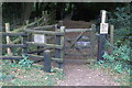 TL0050 : Gate on John Bunyan Way by Philip Jeffrey