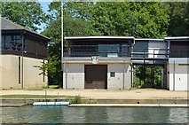 SP5105 : An Oxford College Boathouse by N Chadwick