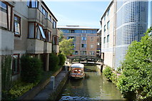 SP5105 : Canal off the Thames by N Chadwick