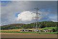 NJ7205 : Pylon at West Mains by Anne Burgess