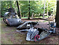 SU9471 : Filming props, apparently Helicopter cockpit mainly, South Forest by Phillip Williams