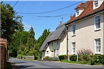 TL5136 : Wenden Place Cottage by N Chadwick