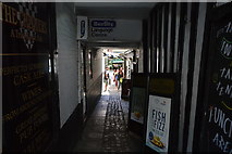 SP5106 : Alley to The Chequers by N Chadwick