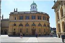 SP5106 : The Sheldonian Theatre by N Chadwick