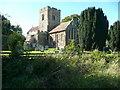 TL1335 : St Mary's Church, Meppershall by Humphrey Bolton