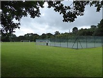 SS5403 : Tennis court south of Hatherleigh by David Smith