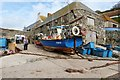 SW7214 : The fishermen's harbour, Cadgwith, Cornwall by Derek Voller