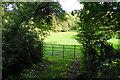 ST6966 : Field entrance in Kelston Park by Bill Boaden