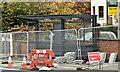 J3674 : EWAY bus shelter, Belfast (October 2017) by Albert Bridge