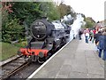SE0335 : LMS 4-6-0 Black 5 Number 44871 at Oxenhope by Ashley Dace