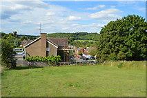 SU8696 : Houses, Burnham Rd by N Chadwick