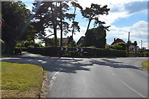 SU8596 : Road junction, Naphill by N Chadwick