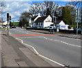 ST3093 : Pelican crossing near The Greenhouse, Llantarnam, Cwmbran by Jaggery