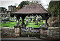 SK3852 : Lych Gate at St Mathew's Church. Pentrich, Derbyshire. by Martin Froggatt