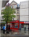 ST3187 : British Heart Foundation shop in Newport city centre by Jaggery