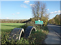 TQ0279 : Buckinghamshire County Sign by Des Blenkinsopp