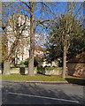 TL6669 : Chippenham church and war memorial by John Sutton