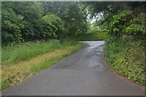 SX5251 : Lane to Polston Park by N Chadwick