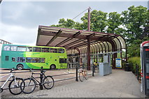 TL4558 : Drummer Street Bus Station by N Chadwick