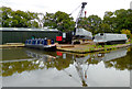 SJ9315 : Narrowboat delivery (5) near Penkridge, Staffordshire by Roger  Kidd