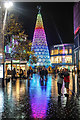 SJ3490 : Christmas Tree, Paradise Street, Liverpool One by Matt Harrop