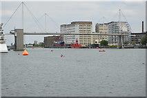 TQ4080 : Footbridge, Royal Victoria Dock by N Chadwick