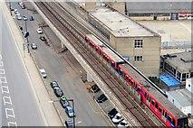 TQ4080 : DLR train by N Chadwick