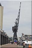 TQ4080 : Crane, Royal Victoria Dock by N Chadwick