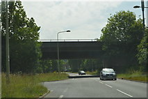 SP4705 : A420 bridge over B4044 by N Chadwick