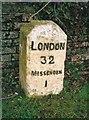 SP8802 : Old Milestone by A Rosevear & J Higgins