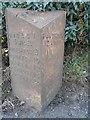 SJ6253 : Old Milepost by JV Nicholls & J Higgins