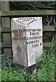 SJ3677 : Old Milepost by J Higgins
