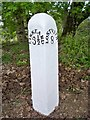SX2064 : Old Milepost by Ian Thompson