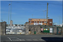 SX4653 : Plymouth Ferry Port by N Chadwick