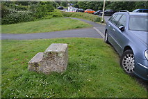 SX4952 : Granite Mounting Block by N Chadwick