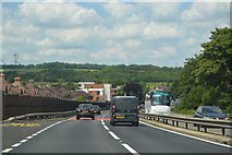 SP4805 : A34, northbound at Botley by N Chadwick