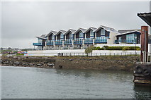 SX4853 : Seaside houses, Mount Batten by N Chadwick